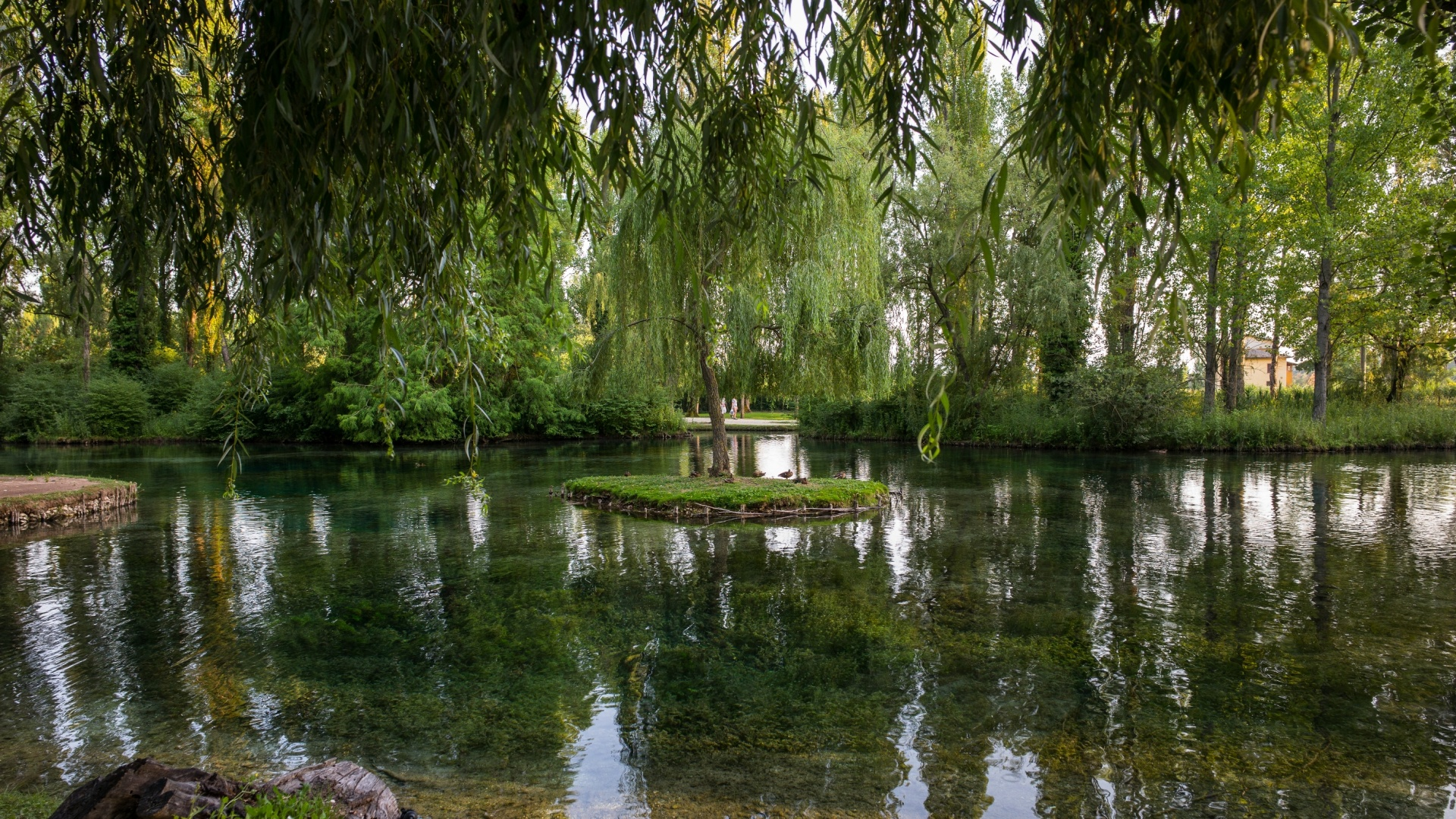 Fonti del Clitunno, chiare fresche dolci acque