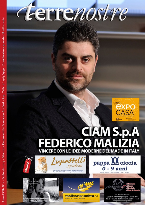 Terrenostre - intervista Federico Malizia, presidente CIAM (febbraio 2015)