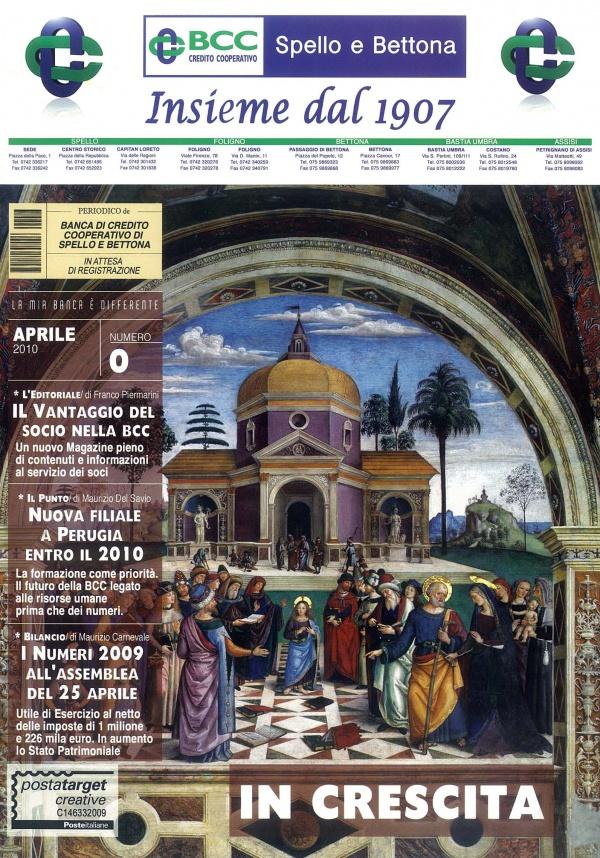Periodico Banca Credito Cooperativo Spello Bettona (aprile 2010)