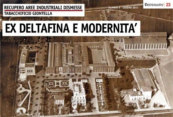Terrenostre - Speciale recupero area ex Deltafina Bastia Umbra (giugno 2011)