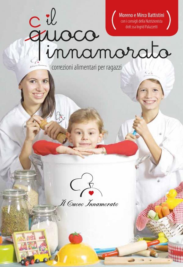 """LIBRO """"IL CUOCO INNAMORATO.<br>Correzioni alimentari per ragazzi"""""""