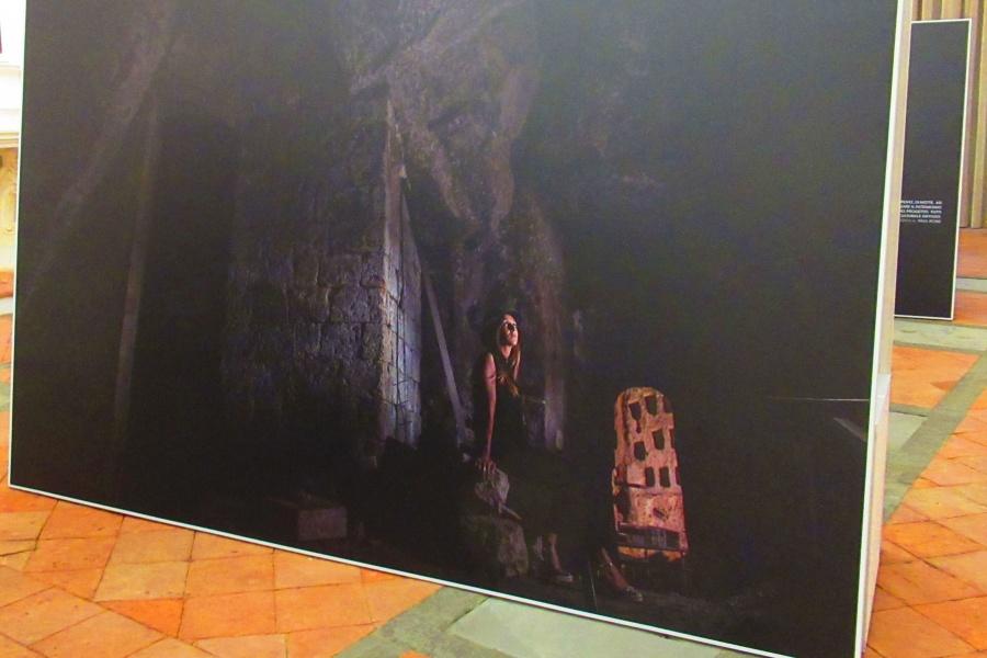 La mostra  'Scoprendo l'Umbria: LUCE' a Città della Pieve (Pg).