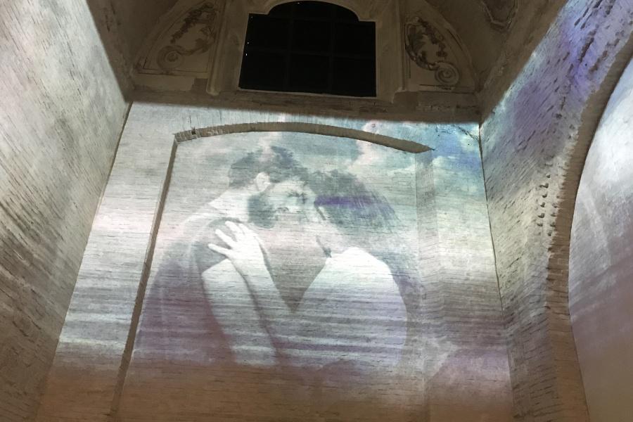 Il racconto multimediale del viaggio di Ulisse.