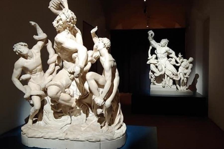 Le tensioni plastiche delle due sculture con il Gruppo del Laocoonte e i gemelli Castore e Polluce.