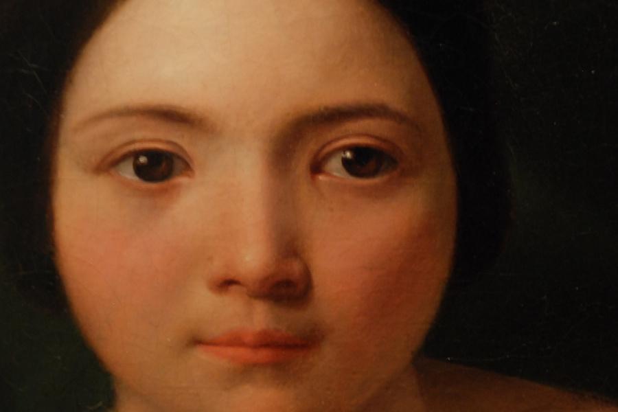 """""""La modella del pittore"""", Odorico Politi, 1837 ca."""