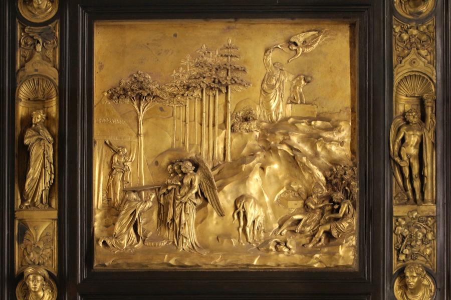 Porta del Paradiso, Lorenzo Ghiberti, part.