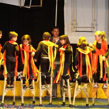 <p><strong>Promozione della&nbsp;Scuola di Piccolo Circo Rataplan</strong>:&nbsp;giocoleria, danza aerea, trampoli, mimica e recitazione.</p>