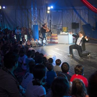 <p>Inaugurazione Scuola di Piccolo Circo Rataplan: un tendone di creativit&agrave;, arte&nbsp;e divertimento&nbsp;in Umbria.</p>