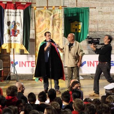 <p>Redazione e conduzione&nbsp;trasmissione &quot;Palio de San Michele - Bastia in tv&quot;.</p>