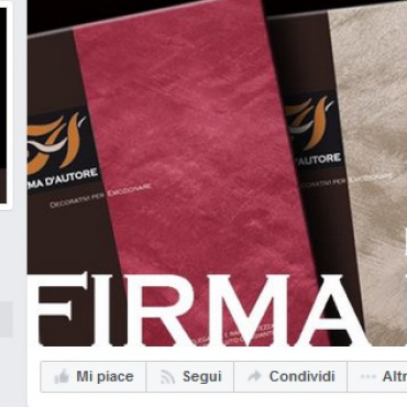 <p>Gestione pagina <strong>Facebook </strong>@FirmadAutore<br /> Gestione profilo <strong>Instagram&nbsp;</strong>@firmadautore</p>