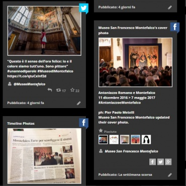 "<p><a href=""http://www.museodimontefalco.it/it/museo-montefalco-social-wall.html"" target=""_blank"">Social Media Marketing </a>(Facebook, Twitter, Instagram)</p>"